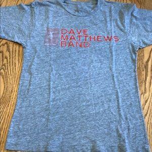 DMB Dave Matthews Band vintage soft tee shirt